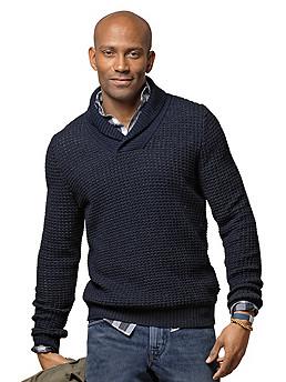 Schalkragen-Pullover »Gaven«