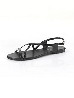 Lack-Sandalette
